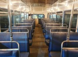 Vintage wedding bus hire in Banbury